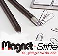 Magnet-Stifte, die pfiffige Werbeidee